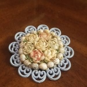Antique homemade brooch PM 132A